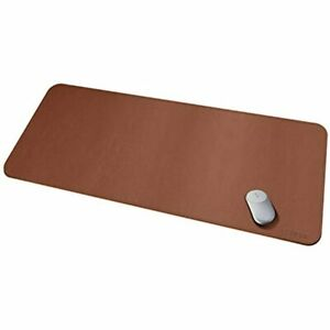 Leather Desk Pad Protector Super Large 51 18 x23 62 Blotter Waterproof Laptop