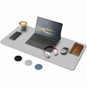 Yoofan Dual Sided Desk Pad Pu Leather Office Mat 31 515 8 Blotter Waterproof