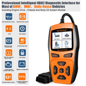 Automotive Obd2 Scanner Car Code Reader Battery Epb Sas Dpf Tool For Bmw Mini Us