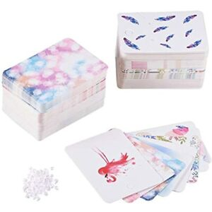 Pandahall 160pcs 8 Colors Necklace amp Earring Display Cards Birds feather