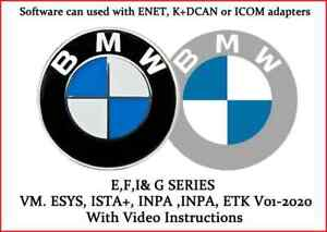 Bmw Diagnostic Coding And Service Software Vm Esys Ista Inpa Etk 01 2020