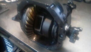 63 79 Rear End Differential Corvette 3 55 Ratio With Heavy Duty Side Yokes