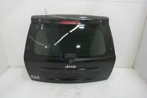 07 10 Jeep Grand Cherokee Trunk Hatch Tailgate Without Rear View Camera Black