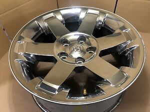 2009 2012 Dodge Ram 1500 Oem Wheel 20x9 Factory 20 Rim Chrome Clad