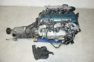 Jdm Toyota Aristo Twin Turbo Vvti Gs300 2jz gte Engine Motor Auto Transmission
