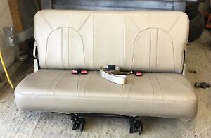 00 01 02 Ford Expedition Navigator Third 3rd Row Seat Tan Oem