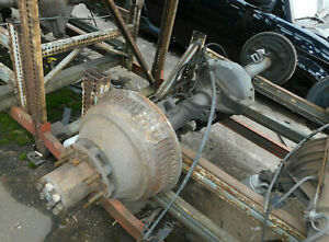 1988 1989 Chevy Gmc 3500 Pickup Rear Axle Assembly 4 10 Ratio 156k Miles Oem Drw