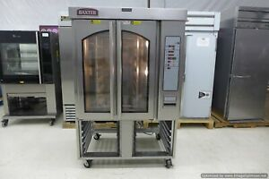 Baxter Ov310e Electric Bakery Mini Rotating Rack Convection Oven 3 Phase Hobart
