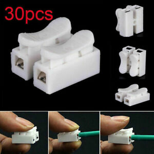 30x 2 Pin Automotive Electrical Wire Connectors Male Female Cable Terminal Plug