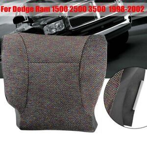 For Dodge Ram 2500 3500 2006 2007 08 09 2010 Cloth Driver Bottom Gray Seat Cover