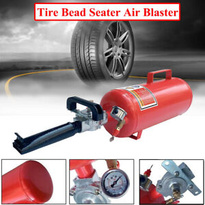 Tank Portable Air Tire Bead Seater Blaster Tool 8l Trigger Seating Inflator Red