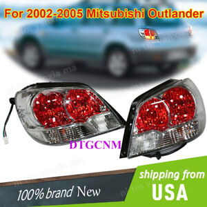 For Mitsubishi Outlander 2002 2005 Rear Tail Signal Lights Lamp Set Left Right
