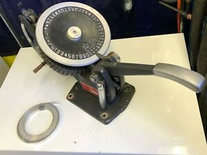 Roovers Embossing Machine Model T 10 A