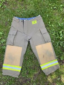 Morning Pride Fire Fighter Turnout Pants 36x27 Bunker Gear 2787