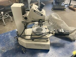 Mitutoyo Toolmaker s Microscope Model 176 901 1a W Mitutoyo Digital Mics