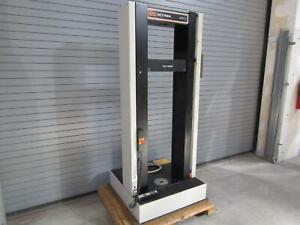 Instron 4501 Tension And Compression Test Equipment