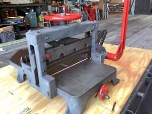 Challenge 19 Inch Hand Lever Paper Cutter Use With Vandercook Chandler Price