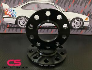 Bmw 10mm Wheel Spacers 5x120 Bolt Pattern Hub Centric 72 56mm Center Bore