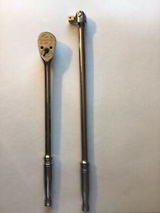 Snap On 1 2 Inch Ratchet Plus 1 2 Inch Breaker Bar