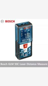 Bosch Glm 50c Professional Laser Distance Measure With Bluetooth New In Open Box