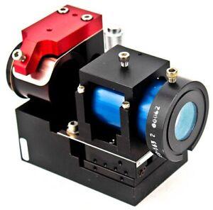 Laser Lab Optical Filter Assembly W optosigma Precision Single Axis Stage
