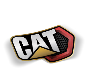 Caterpillar Hex Decal Vinyl 3m Usa Made Sticker Car Truck Window Bumper Wall