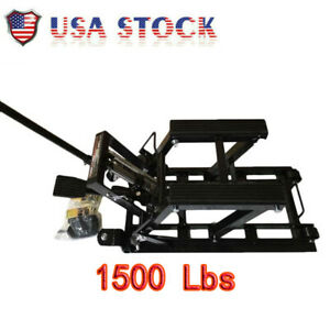 Motorcycle Dirt Bikes Atv 1500lbs Steel Lift Stand Adjustable From 5 5 To 17