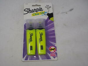 Sharpie Clear View Chisel Tip Highlighters Yellow 1897843