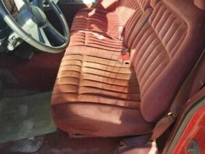 1993 Chevrolet Bench Seat Red Cloth With Arm Rest 710311