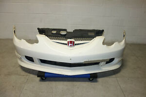Jdm Acura Rsx Type R Dc5 Front Bumper Lip Grille Fog Covers 2002 2004 Honda Oem