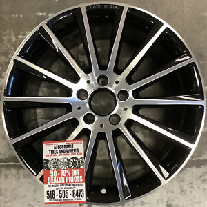 Mercedes C450 C43 16 17 18 19 20 85451 Aluminum Oem Wheel Rim 19 X 8 5 Rear