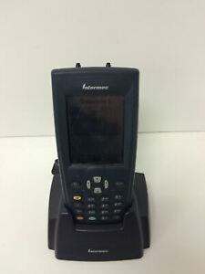 Intermec 751g Handheld Computer Barcode Scanner W stylus Dock Battery Working