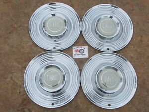 1955 Pontiac Star Chief Chieftain 15 Wheel Covers Hubcaps Set Of 4