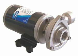 Jabsco 50840 0012 Stainless Steel 5 32 Hp Centrifugal Pump 12v