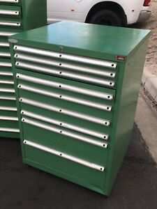 Lista 9 drawer Cabinet Industrial Tool Shop Heavy Duty Storage 5 Of 9