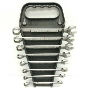 Craftsman Metric Vintage Usa Va Box Open Wrench Set Of 8 With Holder