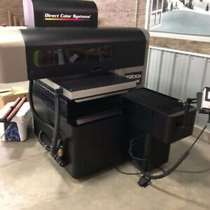 Direct Color Systems 7200z Flat Bed Printer