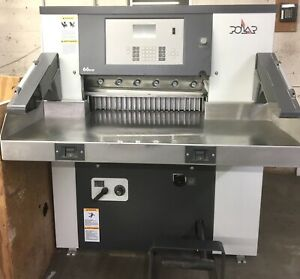 2015 Polar 66 Eco Progammable Paper Cutter low Total Cuts Only 37 000 Challenge