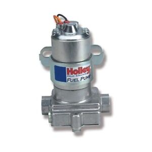 Holley 12 812 1 110 Gph Blue Electric Pump Without Regulator