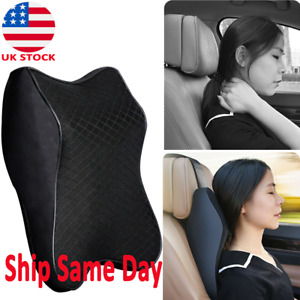 Memory Foam Soft Cotton Car Seat Cushion 3d Head Neck Support Pillow Headrest
