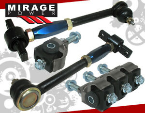For 90 1997 Honda Accord Cd Lx Dx Ex Se Blue Front Rear Camber Suspension Kit