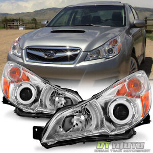 For 2010 2014 Subaru Legacy Outback Headlights Lamps Left right 10 11 12 13 14