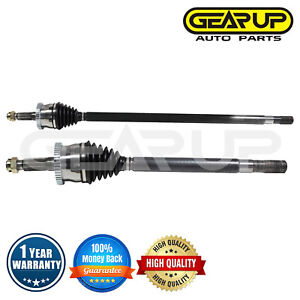 Pair Cv Axle Joint Assembly Front For Jeep Grand Cherokee Sport 4wd 4 0l 4 7l V8