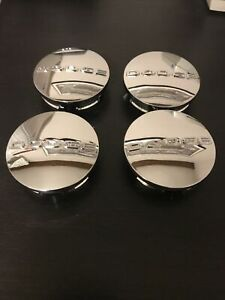 4pcs Wheel Center Caps Chrome 2 1 2 Rim Emblem Hubcaps Cover Logo Fit For Dodge