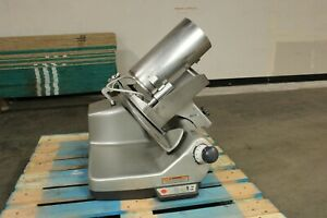Hobart 3913 13 Automatic Commercial Meat Deli Cheese Slicer W Sharpener Chute