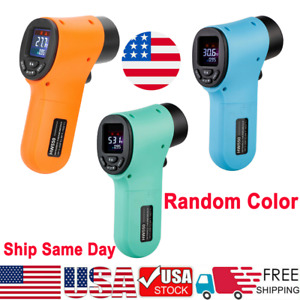 Us Digital Non contact Thermometer Temperature Tester Gun Ir Laser Thermometer