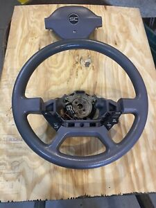 Steering Wheel And Center Horn Pad 1989 1993 Ford Thunderbird Sc Oem Factory
