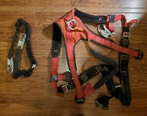 Buckingham Lineman Climbing Harness Protection Belt 350lb Sz Lg Model 68d7g023