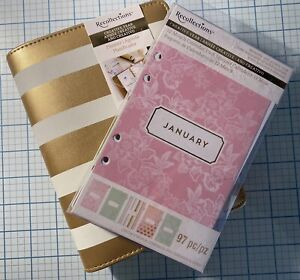Creative Year Planner Datebook 12 Month Calendar Lot A5 Tabs Dividers New