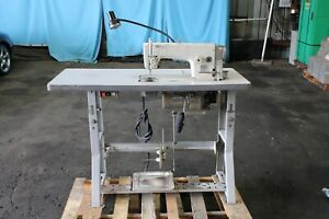 Brother Industrial Sewing Machine Db2 b791 015a W Table And Foot Pedal 220v